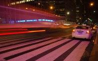 Nightime New York - Slow shutter speed