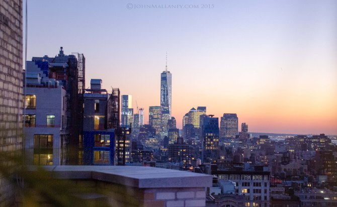 Stunning views from 230 fifth