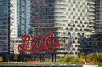 Coca Cola sign - Gantry Plaza State Park long island city