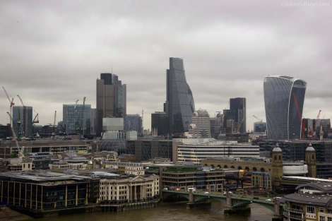 London Skyline - Walkie Talkie, the Cheesegrater, Tower 42, The Gherkin