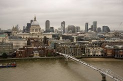 St Pauls Cathedral, Millenium Bridge