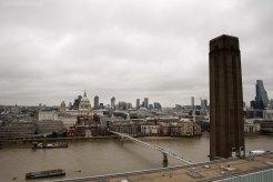 Tate Chimney, Millenium Bridge, St Pauls Cathedral