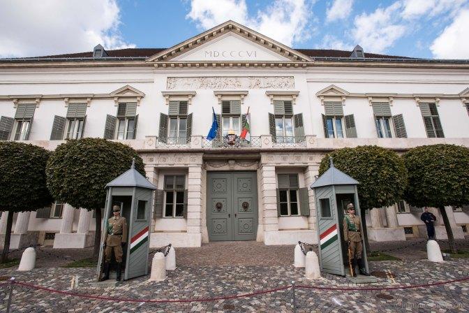 Budapest – Sándor Palace