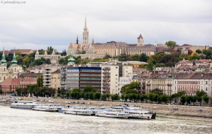 Budapest - View to Fisherman's Bastion