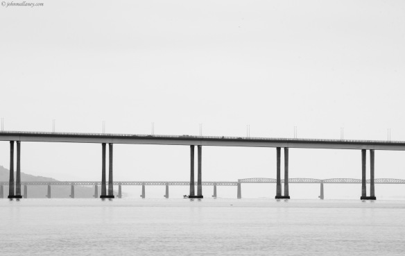 The Tay Bridges, Dundee.