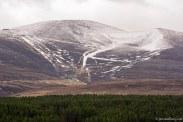 Cairngorm mountain - Ski slope