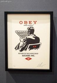 Make Art Not War by OBEY