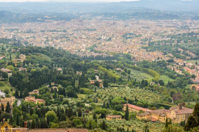 Panorama of Florence from Fiesole