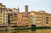 Chiesa di San Jacopo Soprarno Bell Tower from River Arno - Florence