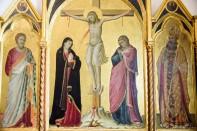 Pacino Di Bonaguida_Crucifixion and Saints
