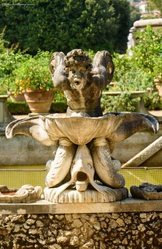 The Boboli Gardens of Pitti Palace