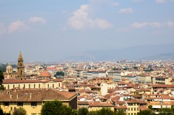 Views from the The Boboli Gardens of Pitti Palace